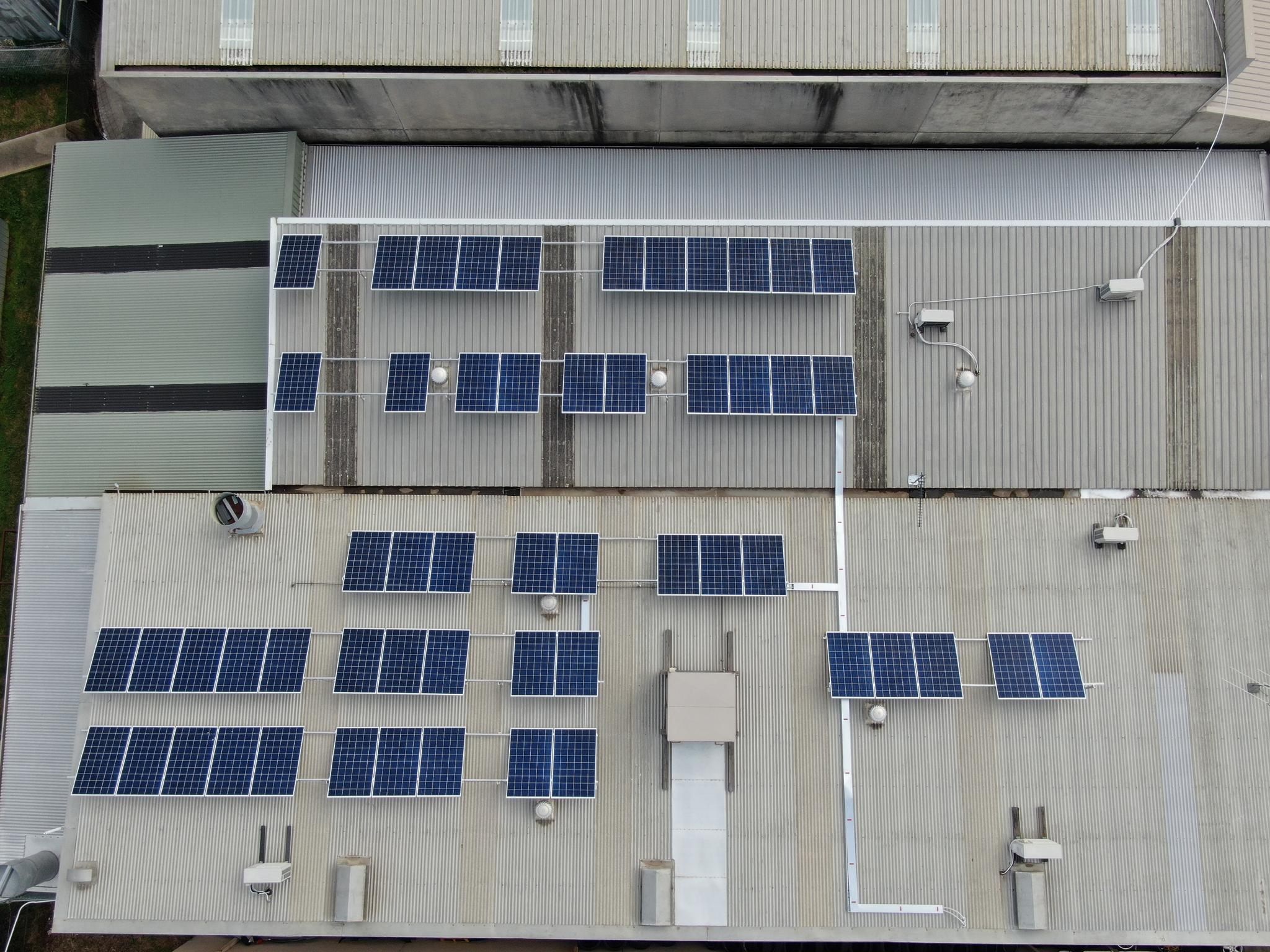 Replas Installs Solar Panels On Head Office and Sales Office