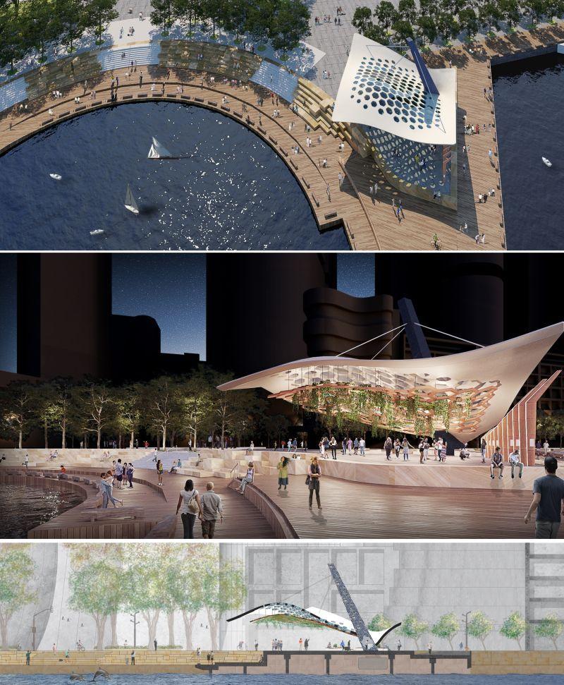 Concept Design For Pavilion At Barangaroo