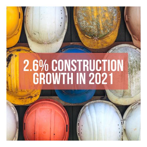 Australian Construction Industry To Grow 2.6% in 2021