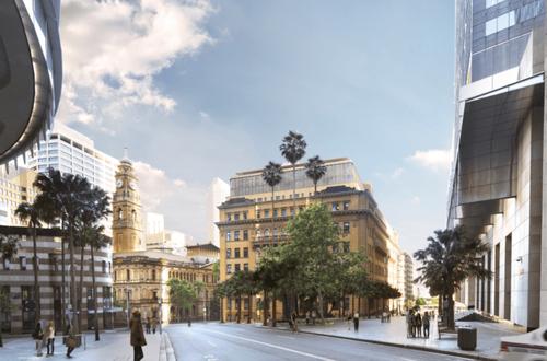Sydney sandstone buildings' fresh redesign