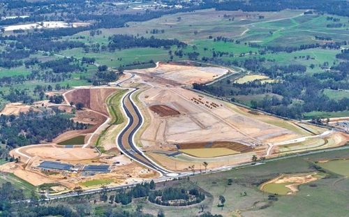 First major infrastructure completed for Western Sydney Airport