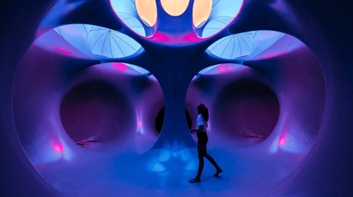 Enter a Labyrinth of Light, Color and Air with Dodecalis Luminarium