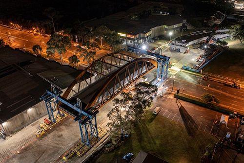 Sarens Installs Sydney Bridge in Less Than 8 Hours