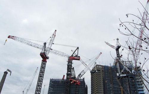 Crane Spotting: Sydney Construction Falls While Melbourne Peaks