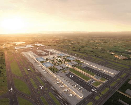 Winning Western Sydney Airport terminal design unveiled