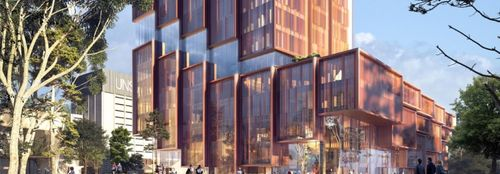3XN Unveils New, Sustainable Building for UNSW Sydney Campus