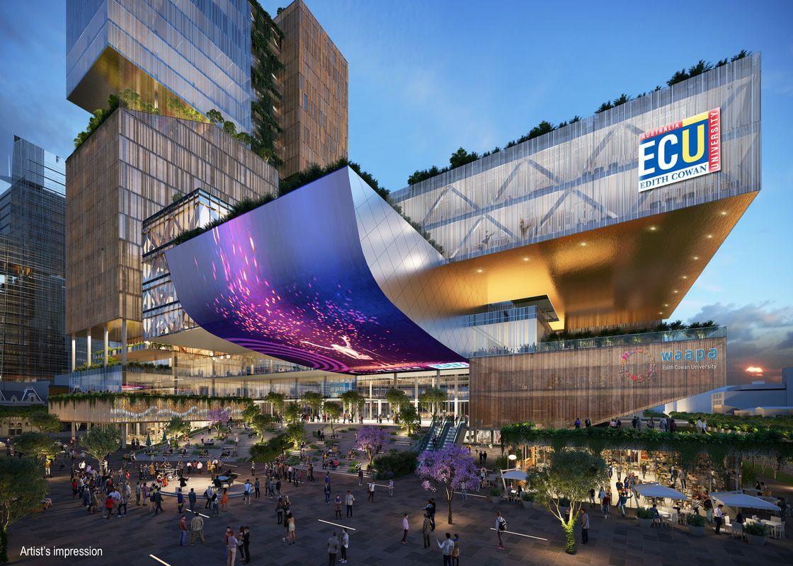 Edith Cowan University Unveils New City Campus Design