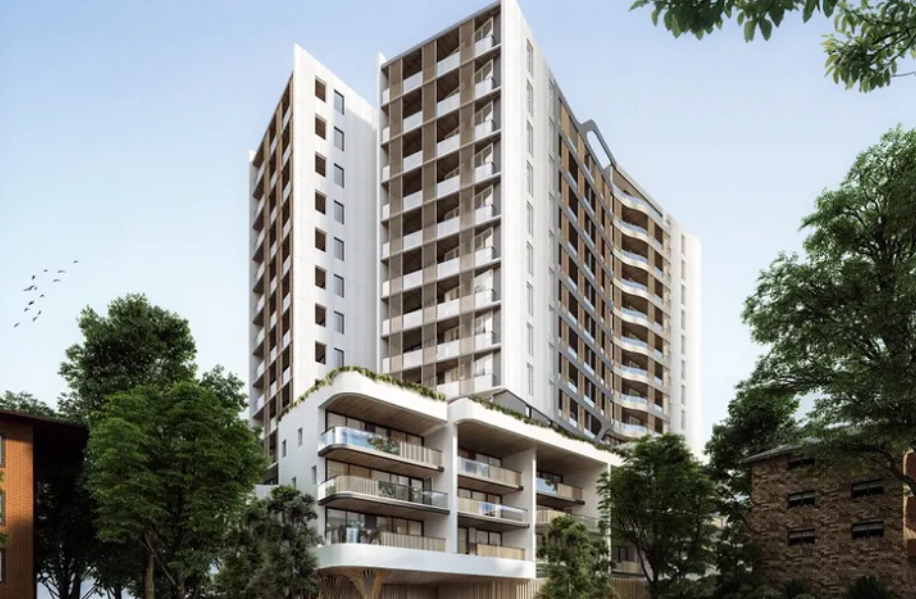 Proposal Submitted Fro 16 Storey $55.5-million Apartment Rower Within Cluster on Sydney's North Shore.