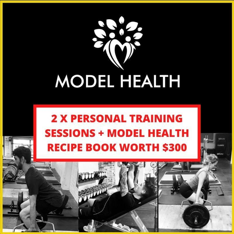 Personal Training sessions & Cookbook
