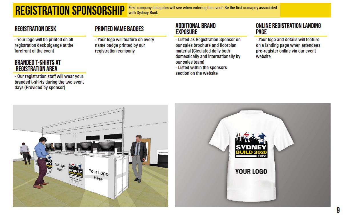 Registration Sponsorship