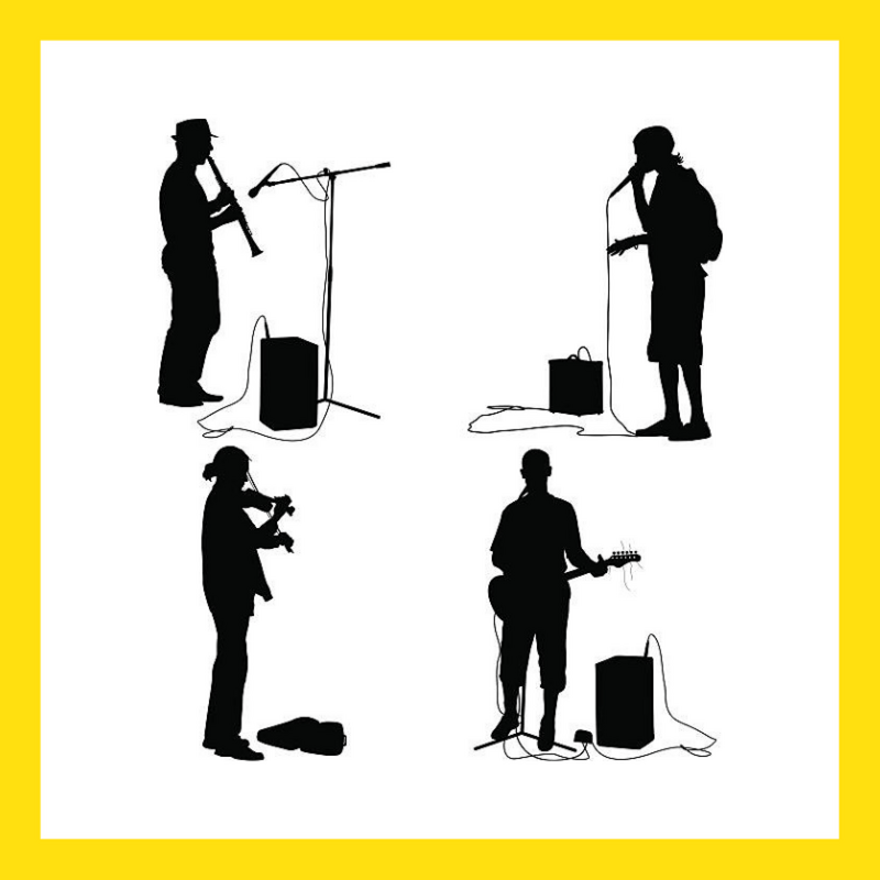 Live Music Buskers & Entertainers