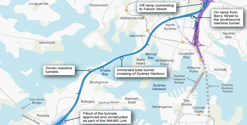 Partner shortlist Released For Western Harbour Tunnel Development