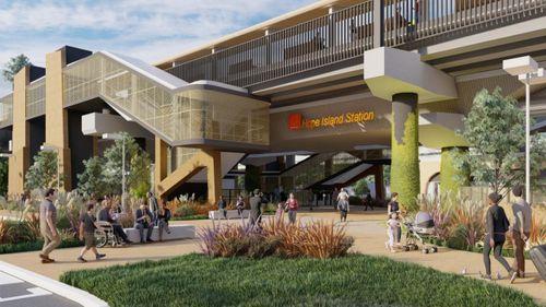 Sneak Peek of Designs for Gold Coast Train Station