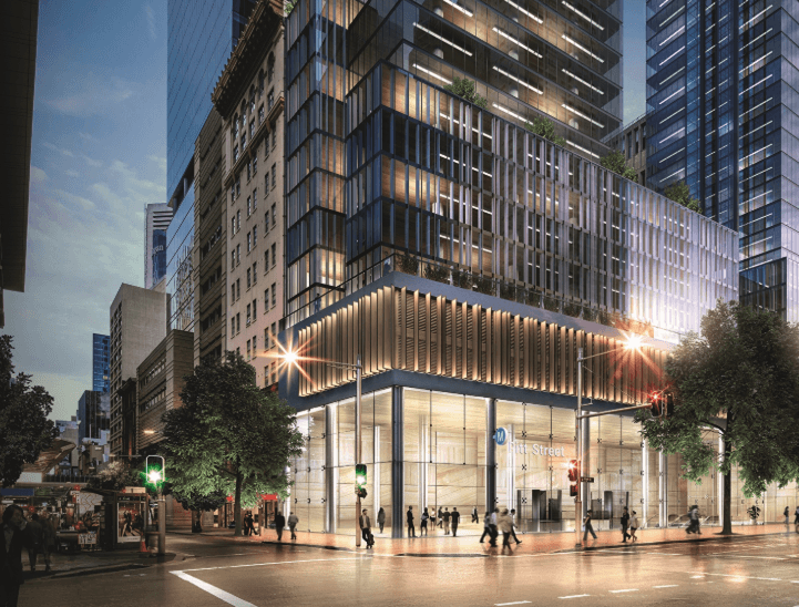 Contract Awarded For Pitt Street Station