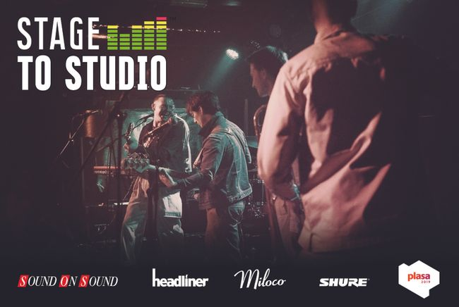 PLASA Show announces Stage to Studio: Recording a live band