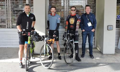 Industry representatives to Cycle to PLASA Show for Charity