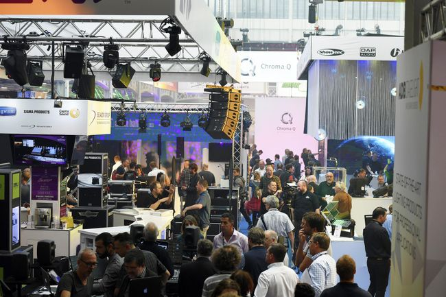 Record audio support for PLASA Show 2019