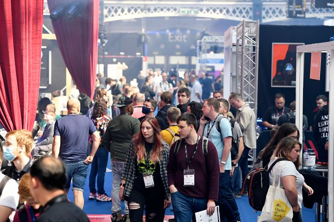New products and tech content at PLASA Show today