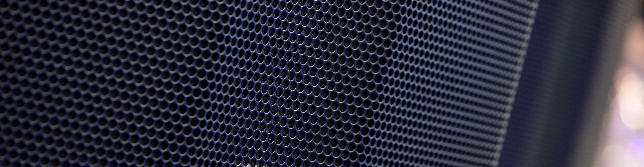 speaker close up