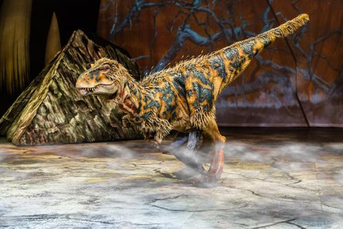 Mighty MDG Goes Walking with Dinosaurs