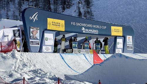 RCF amplifies the adrenaline in the 2021 Snowboard World Championships