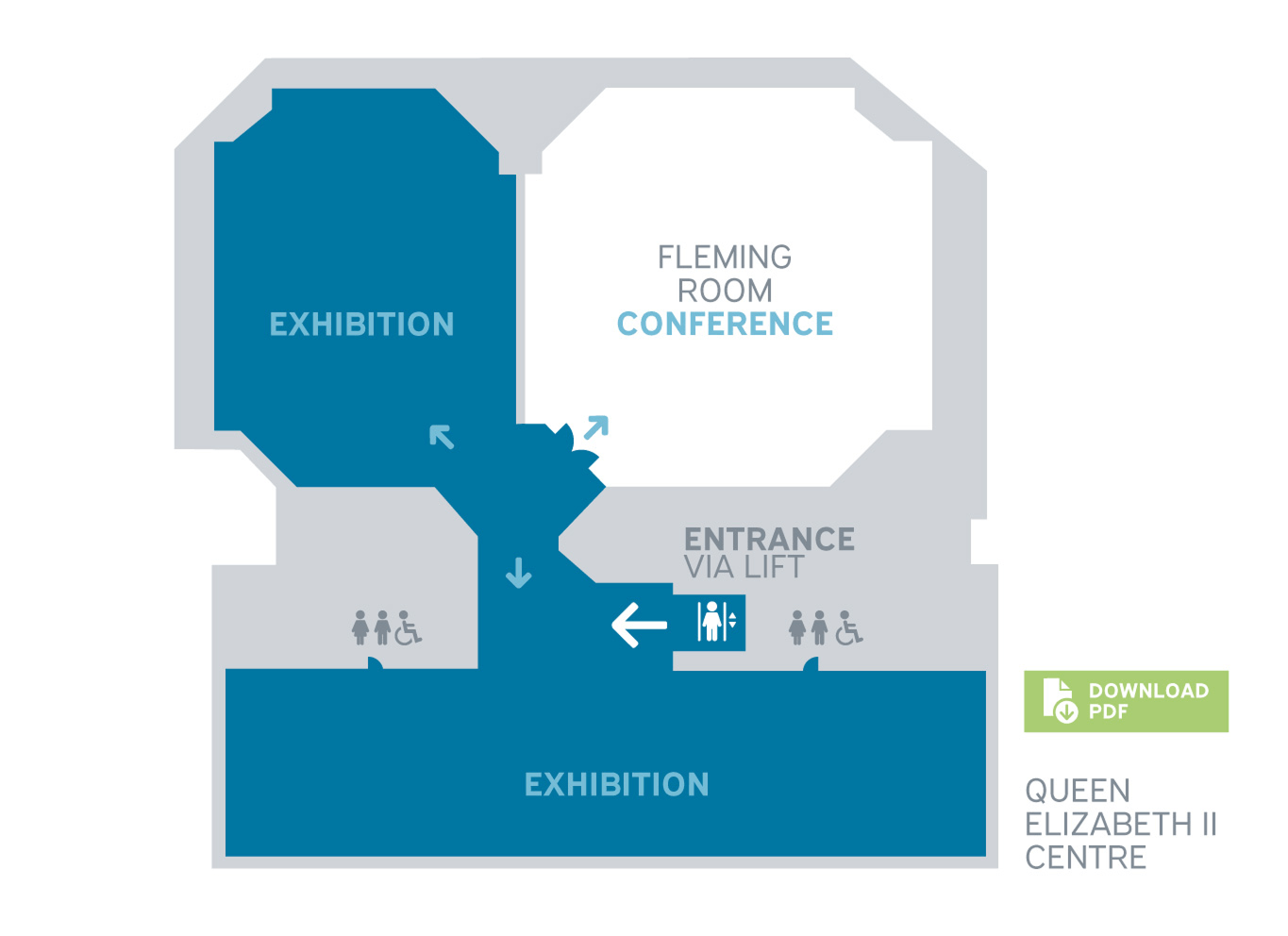 Overall exhibit floorplan