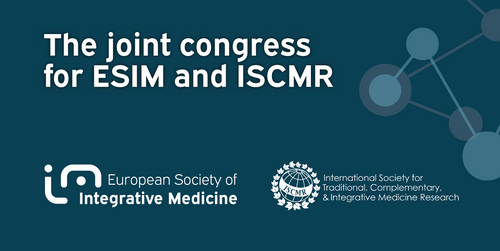 ESIM partners with The International Society for Traditional, Complementary, and Integrative Medicine Research (ISCMR) to host ECIM 2021