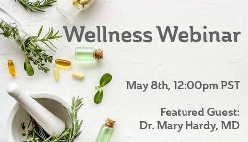 AIHM Wellness Webinars - strategies to support immune competence