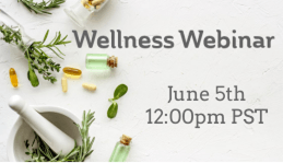 Join Dr Shamini Jain at the next AIHM Wellness Webinar