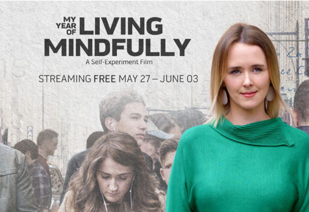 Online Premier of 'My Year of Living Mindfully' free until 3 June 2020