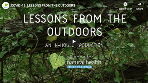 ANH International's Video – COVID-19 Lessons from the Outdoors