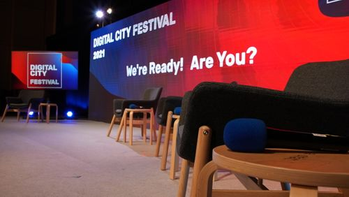 MONDAY 12: We're going live! Tune in for the Official Digital City Festival Opening Event