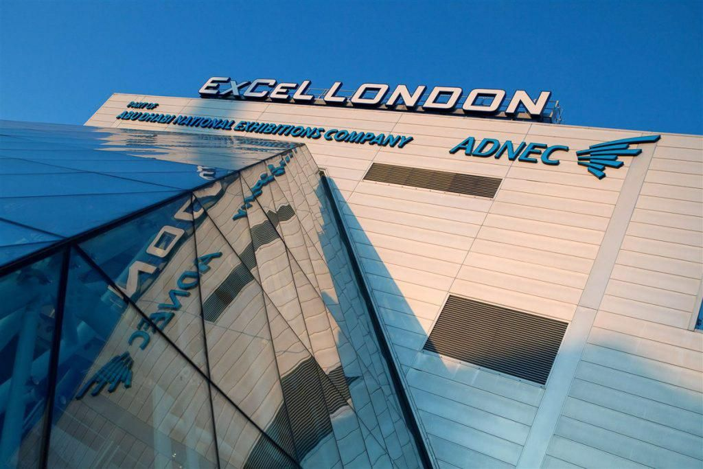 Excel london, venue for Hard Surfaces