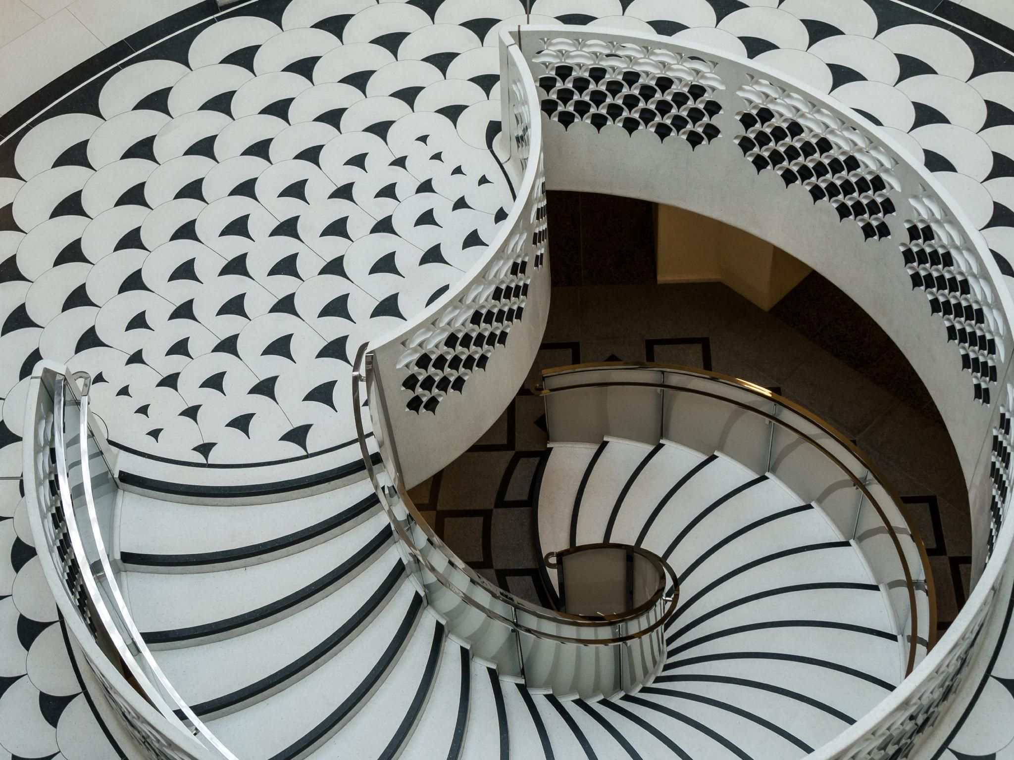 Terrazzo supplied by Agglotech to stunning effect at the Award winning Tate Britain