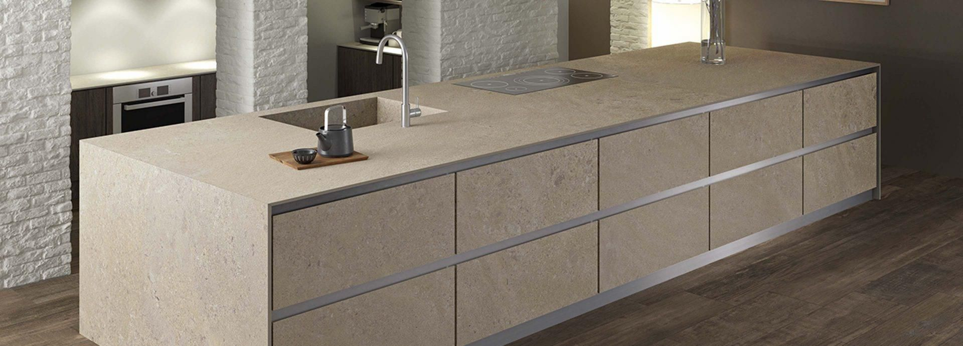 Oatmeal from the Ceralsio ceramic surfaces range