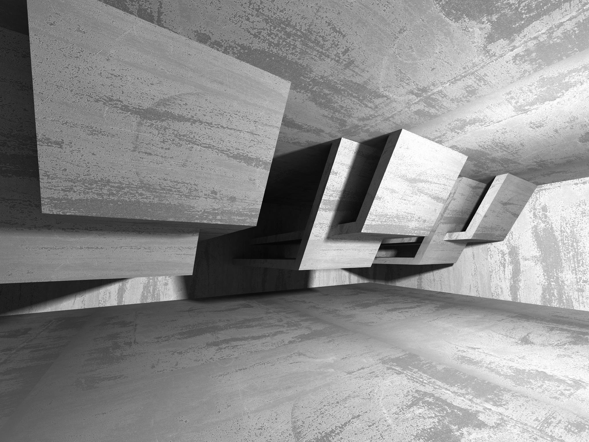 Terrazzo Concrete Mosaics Exterior Design
