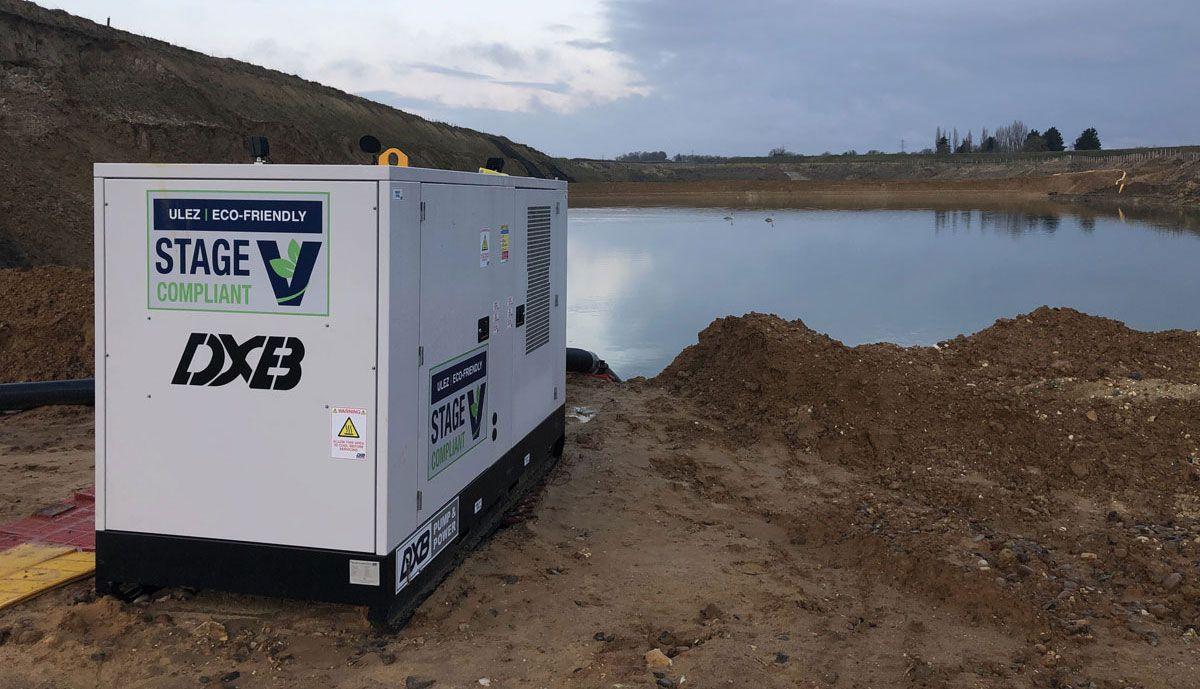 DXB Pump & Power Stage V-compliant pumpset