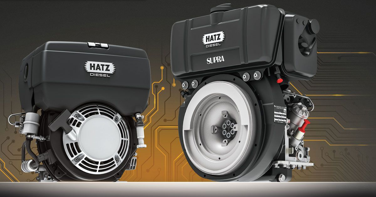 Hatz single-cylinder diesel engines