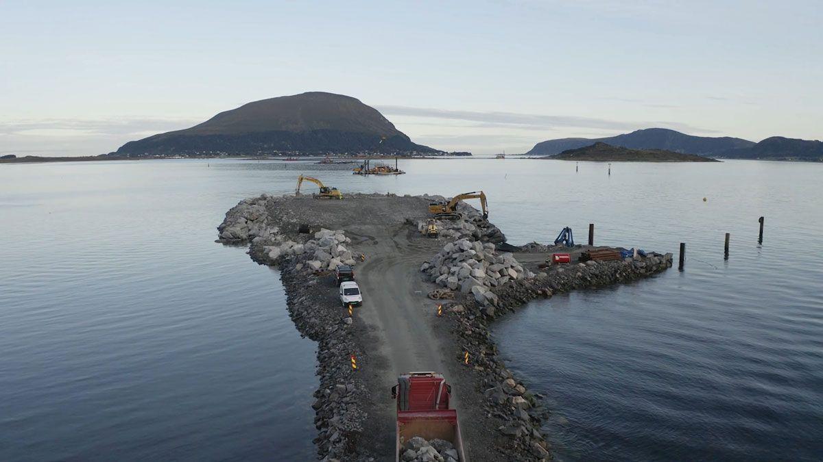 Topcon - Nordøyvegen project
