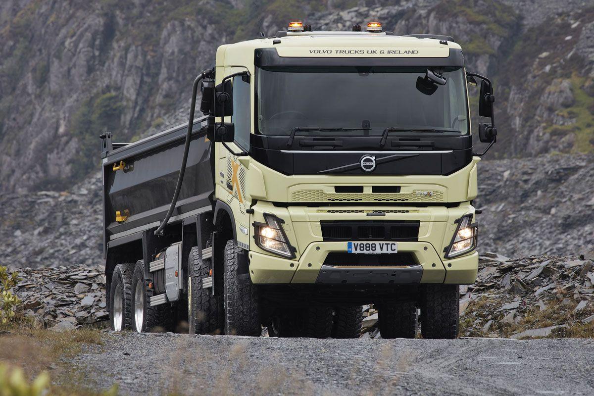 Volvo FMX construction truck