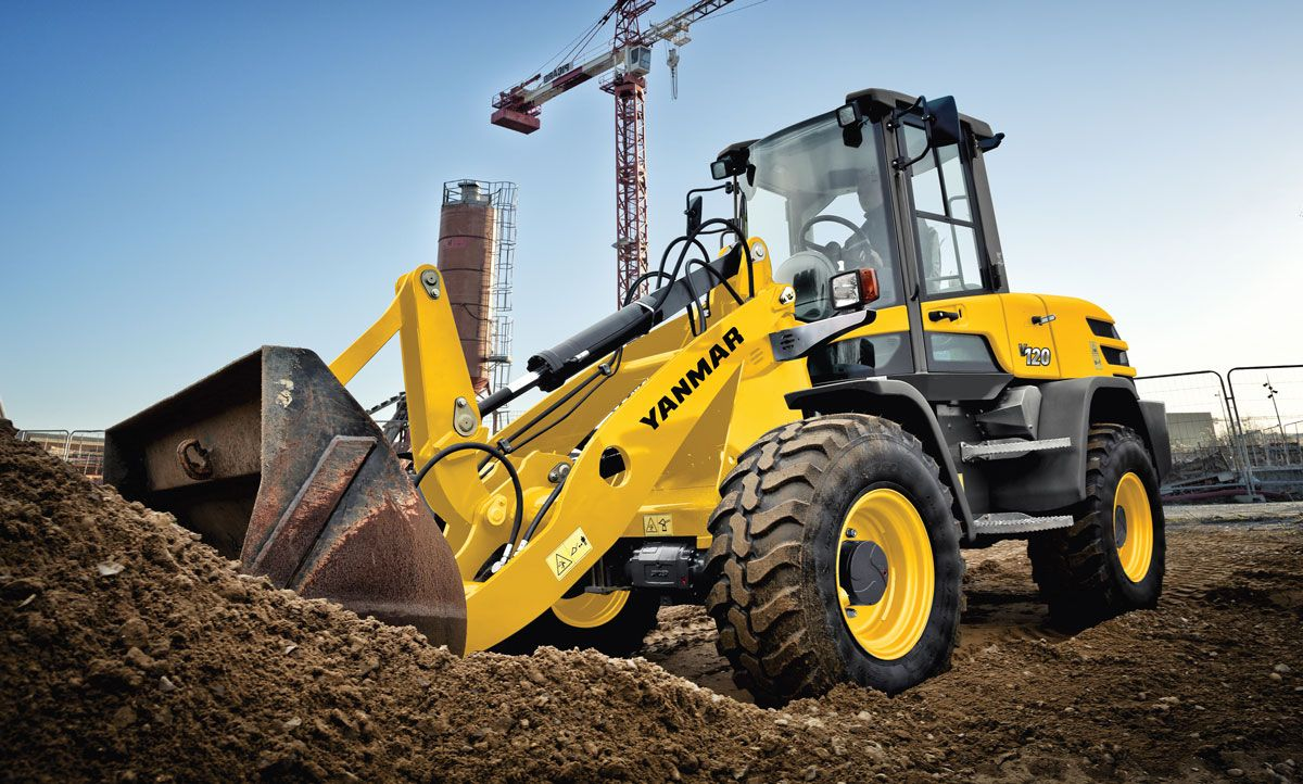 Yanmar V120 compact wheel loader