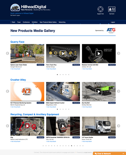 Explore the New Products Media Gallery