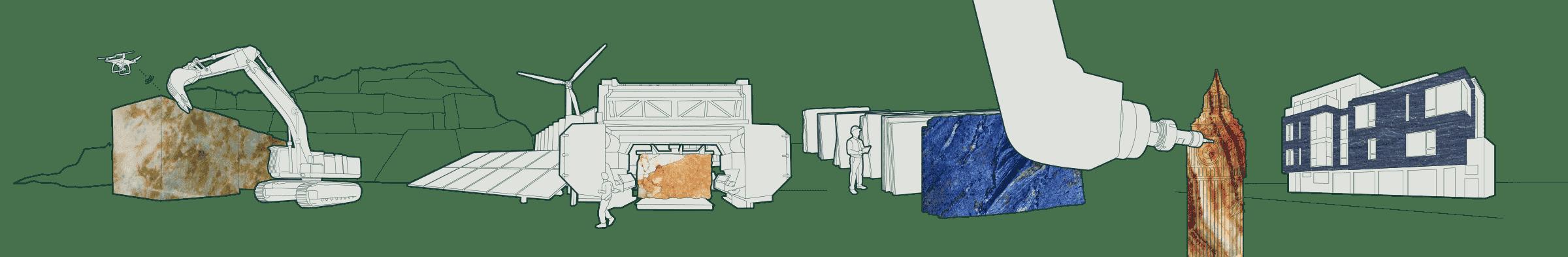 Stone Digital graphic