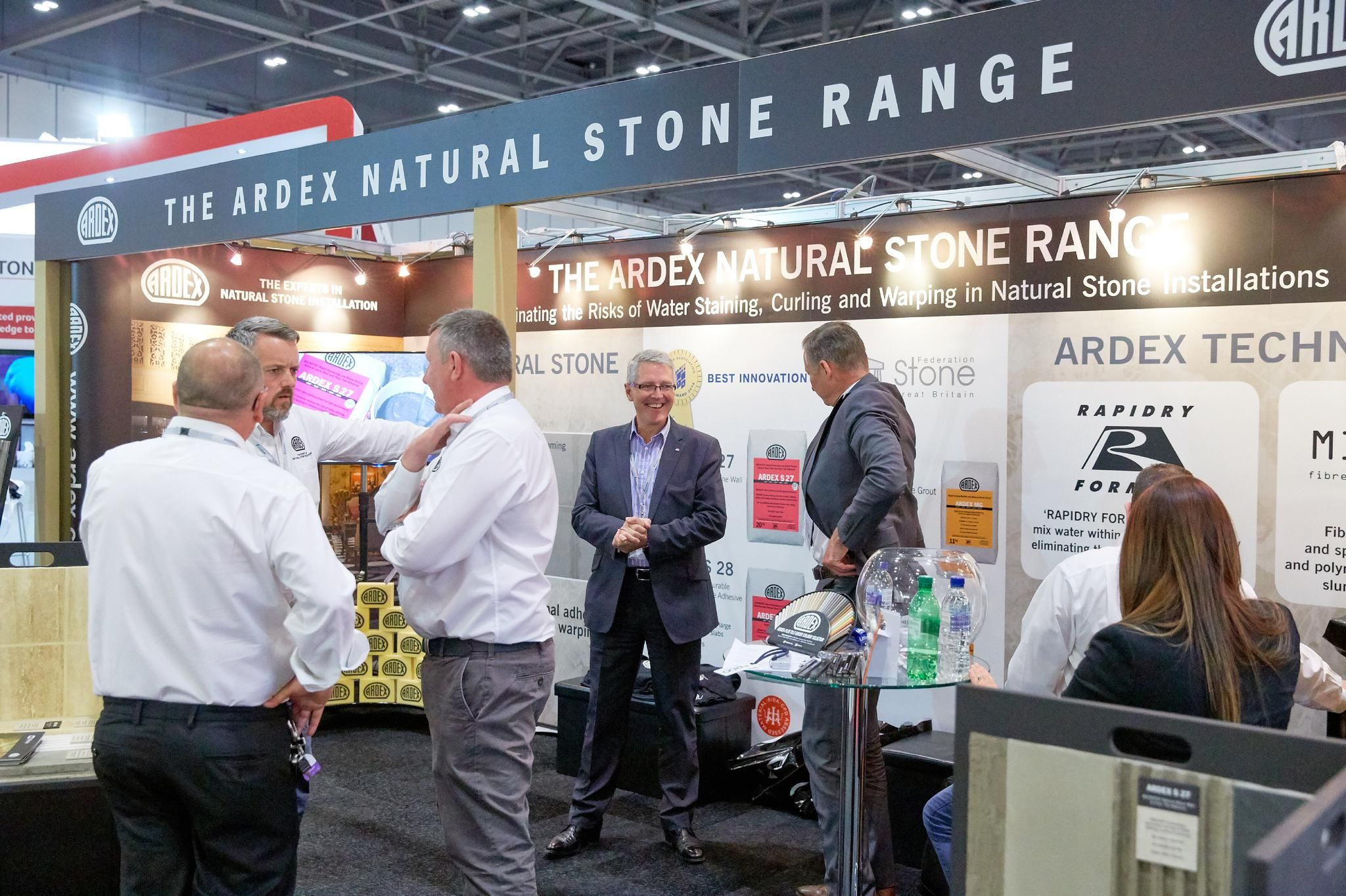 Ardex at the Natural Stone Show