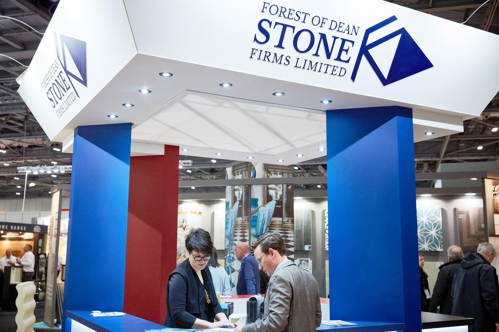 Forest of Dean stone at Natural Stone Show