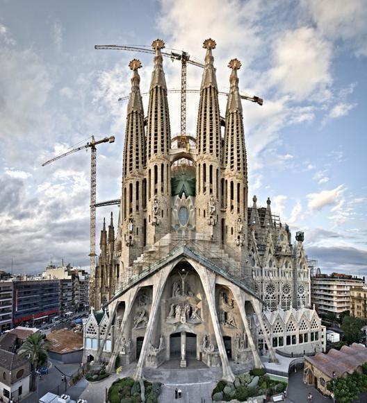 Basilica de la Sagrada Familia in Barcelona