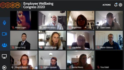 Virtually together at the Employee Wellbeing Congress