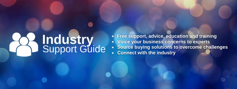 industry support guide banner