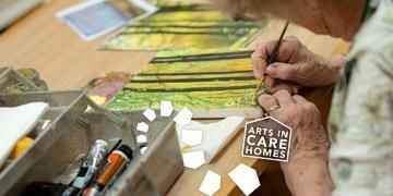 Arts in Care Home