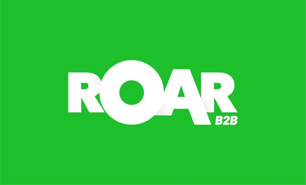 Roar B2B logo green